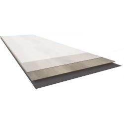 Vinyl floor cross-section
