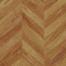 Faus Chevron Boho laminated floor