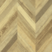Faus Chevron Cream laminated floor
