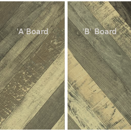 Faus Chevron Vintage Laminated Flooring