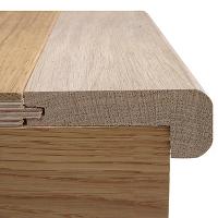 20mm x 2700mm Staki Oak Stair Nosing