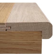 15mm x 900mm Staki Oak Stair Nosing
