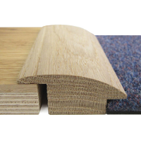 20mm x 2700mm Oak Semi-Ramp Section